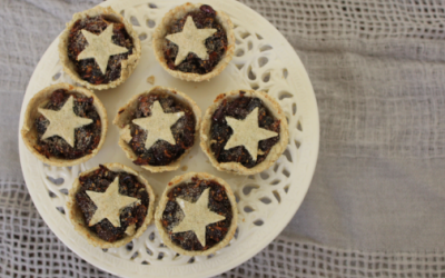 Healthful Christmas Fruit Mince Pie