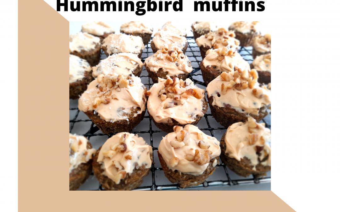 Snack Time! Hummingbird Muffin Recipe